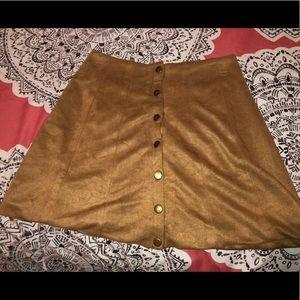 Altar'd State button up skirt